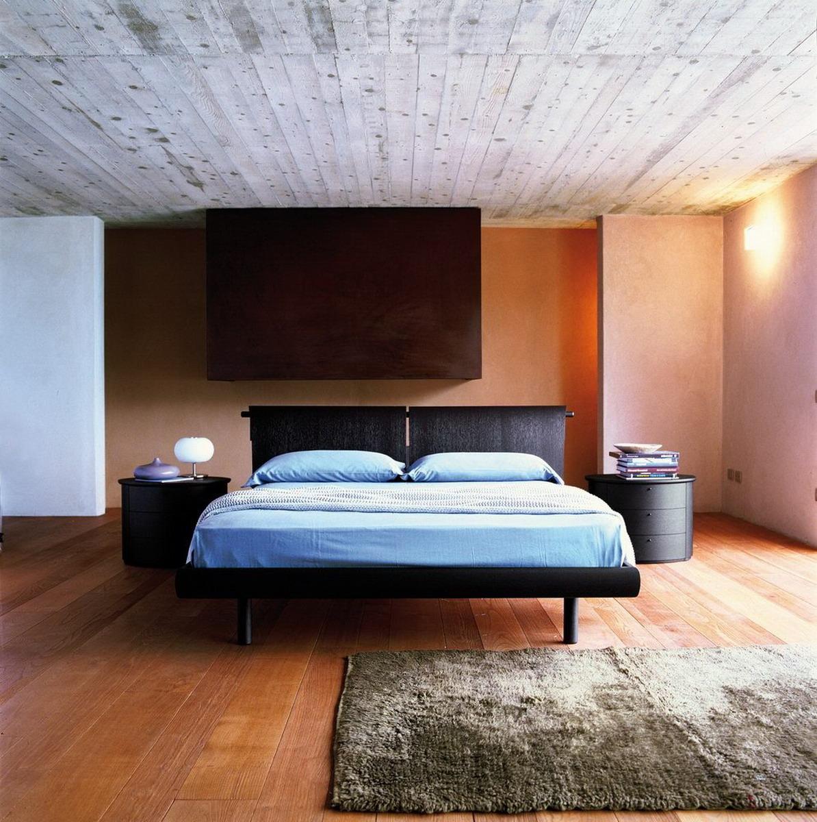 Letto Papier Dark | Letti Online - camere da letto e letti di ...